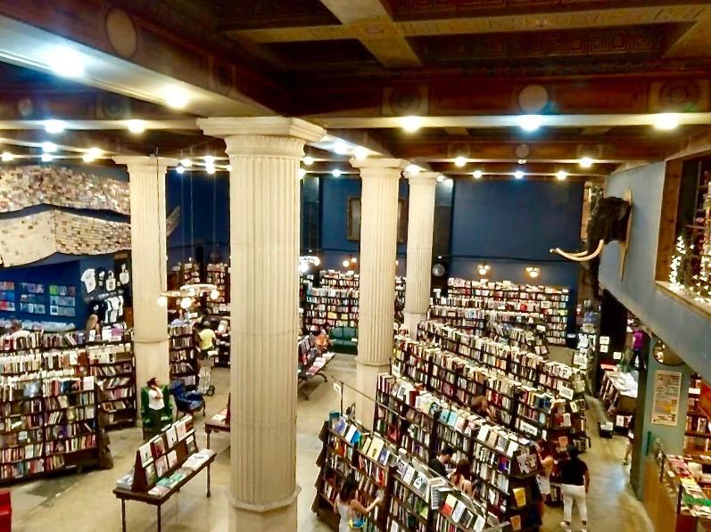 The Last Bookstore downtown LA, gelijkvloers