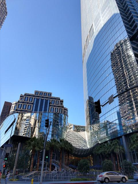 Intercontinental Hotel, downtown LA