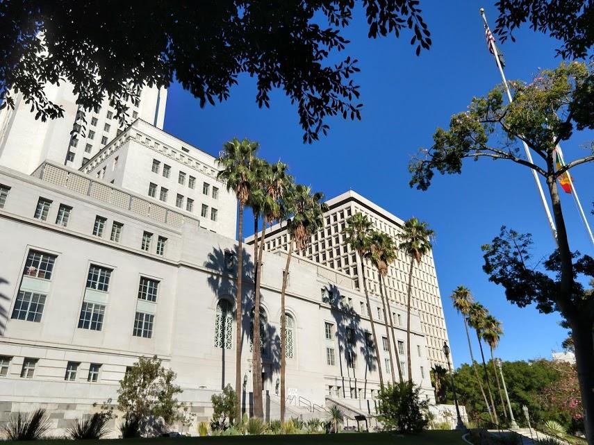 City Hall, downtown LA