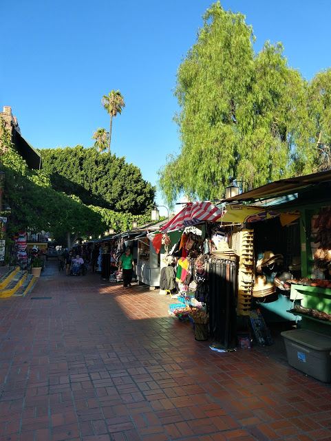 Olvera Street, downtown LA