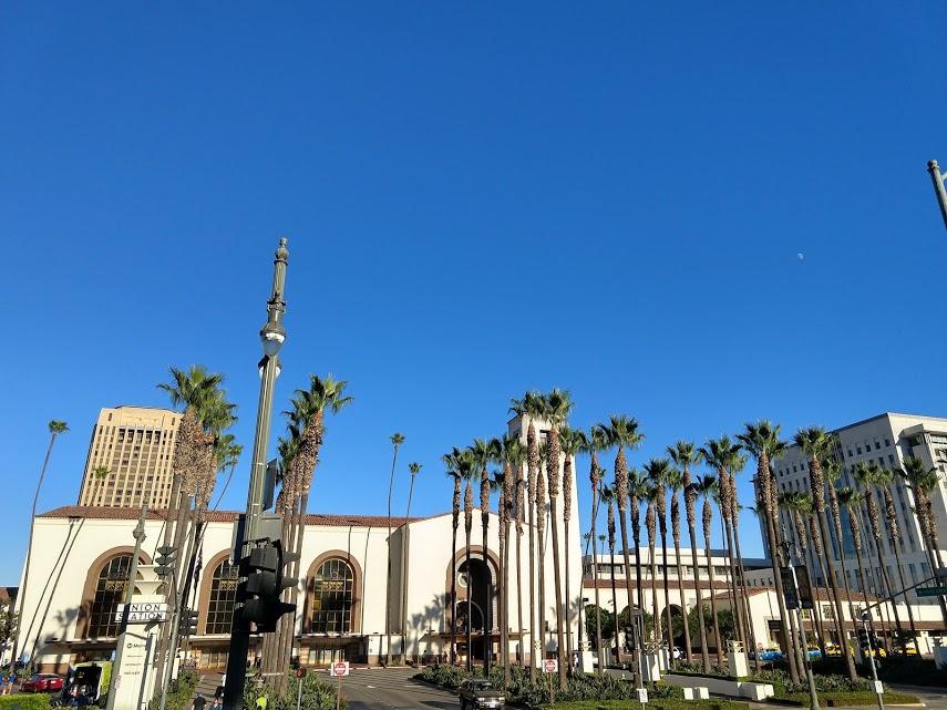 Union Station, downtown LA