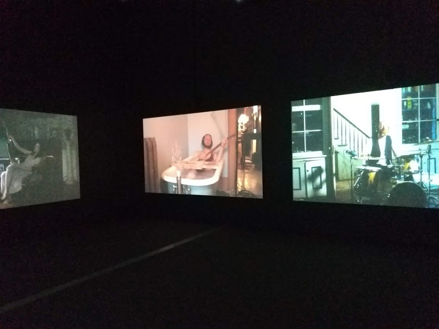 The Broad, downtown LA, Kjartansson, The Visitors