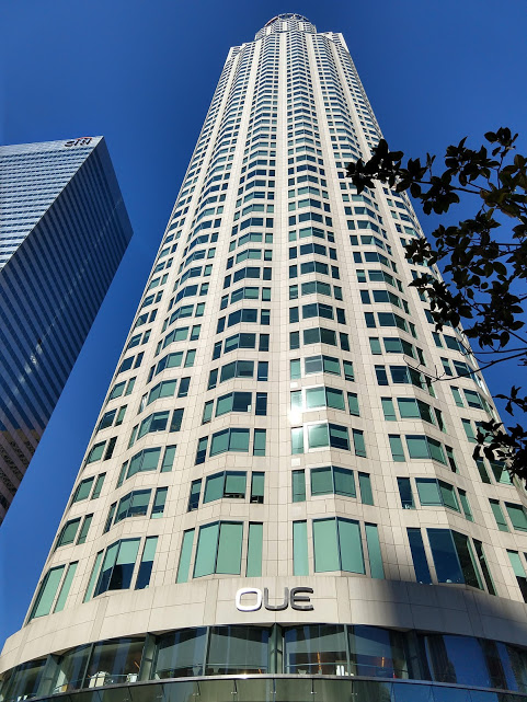 OUE Tower, downtown LA