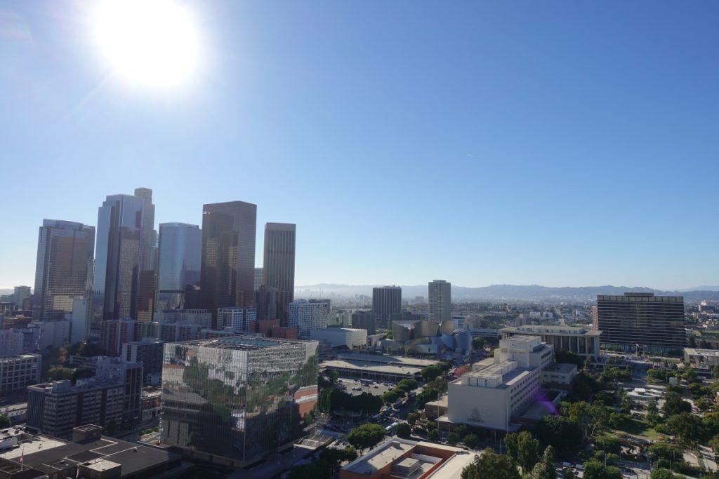 uitzicht vanuit City Hall, downtown LA