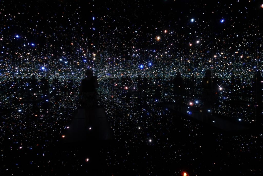 The Broad, downtown LA, Infinity Room, Kusama