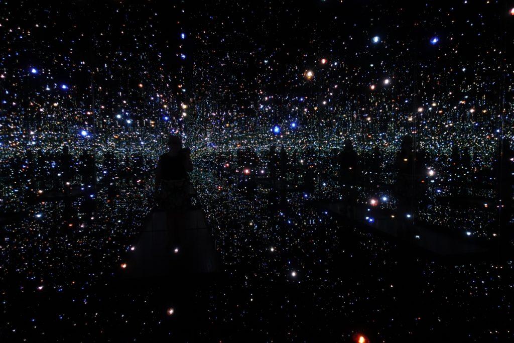 The Broad, downtown LA, Infinity Room, Kusama