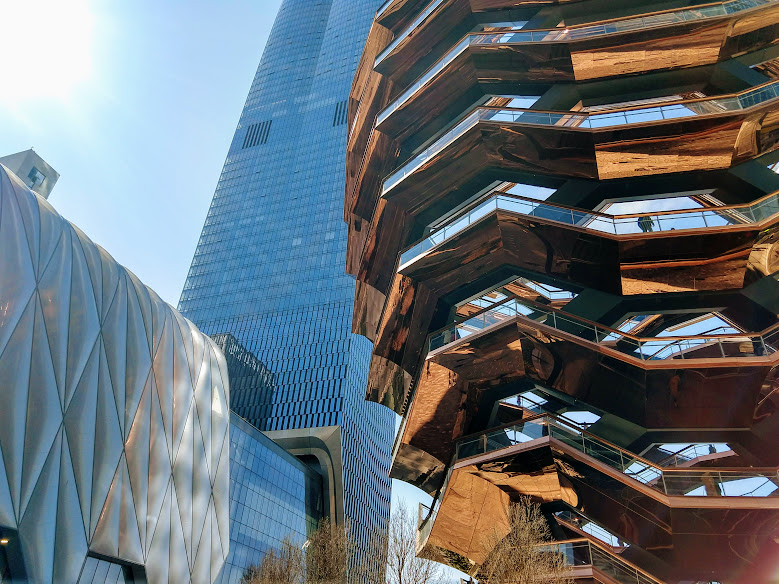 The Shed & The Vessel, Hudson Yards
