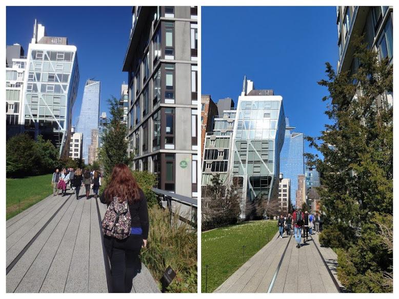 Hudson Yards op de High Line