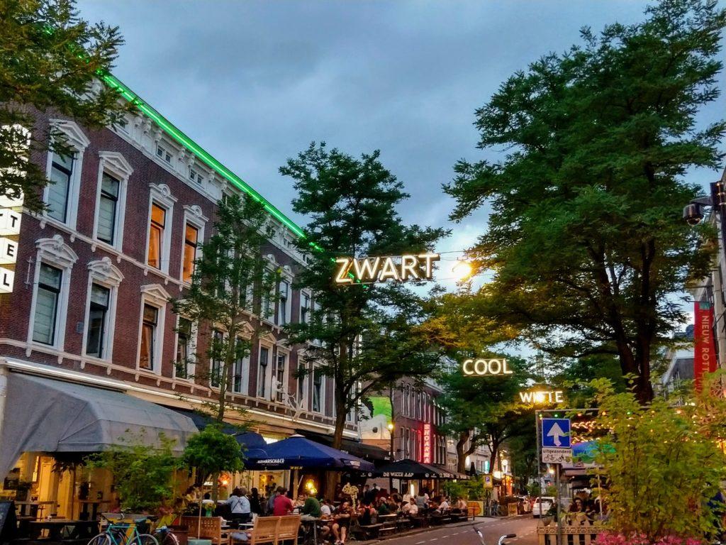 Witte de Whitstraat in de Cool-wijk in Rotterdam