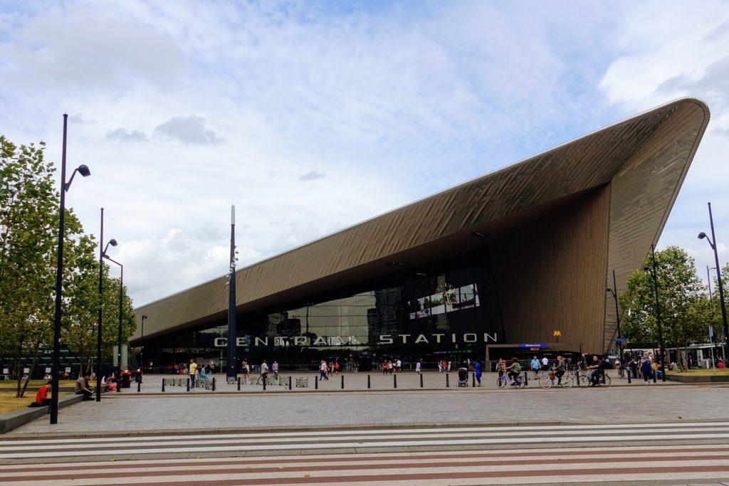 Gevel Centraal Station, Rotterdam