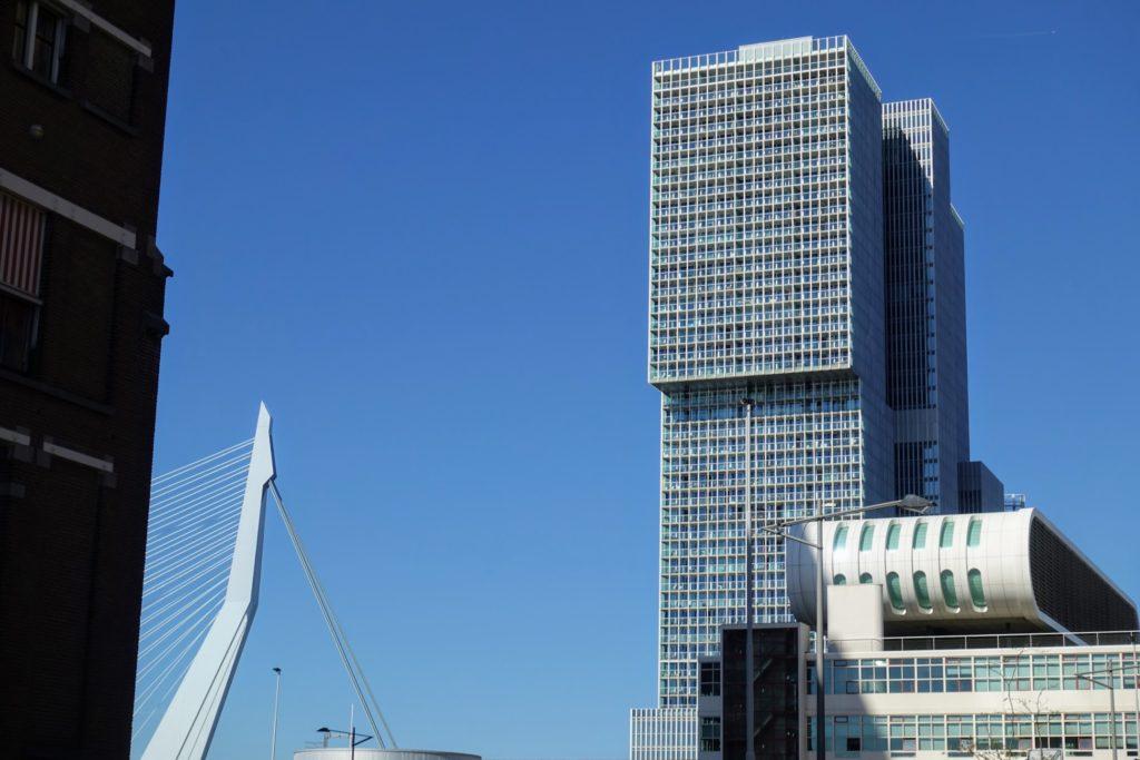 Erasmusbrug - De Rotterdam - Fotomuseum