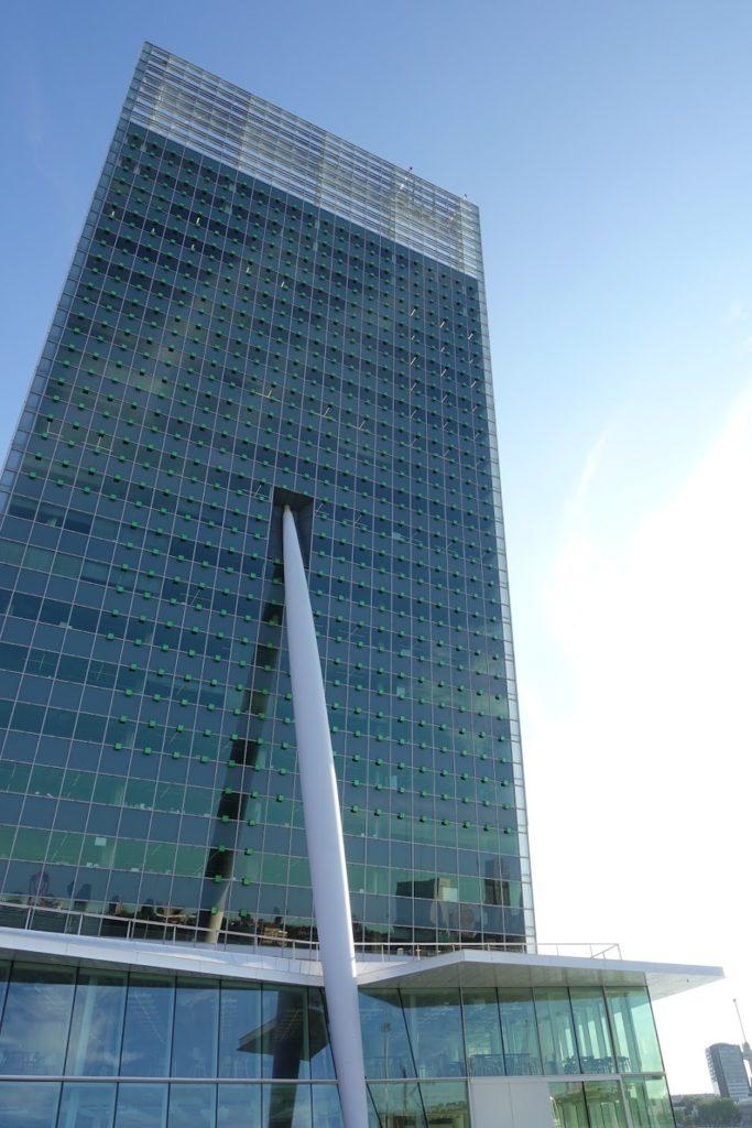 Belvedère - Toren op Zuid - KPN-gebouw in Rotterdam, Wilhelminapier of Kop op Zuid