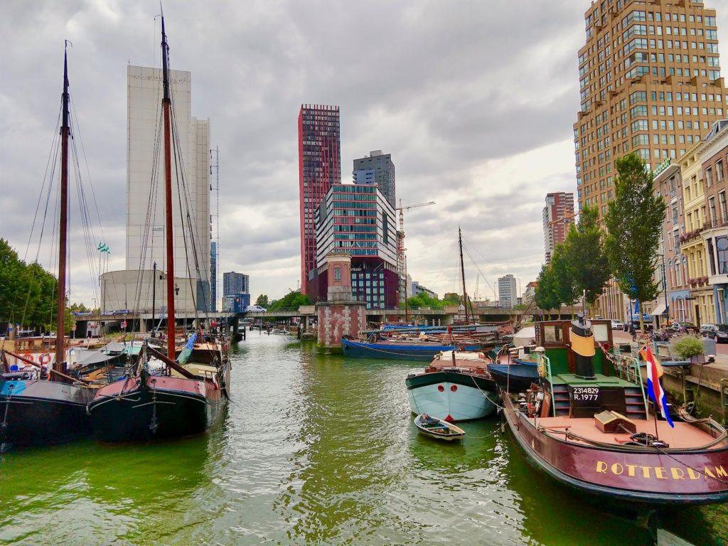 Wijnhaven in Rotterdam