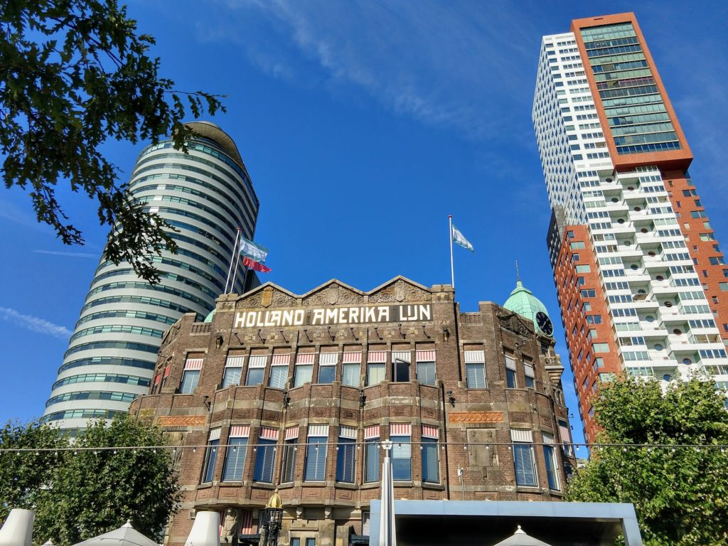 World Port Center - Hotel New York - Montevideo in Rotterdam