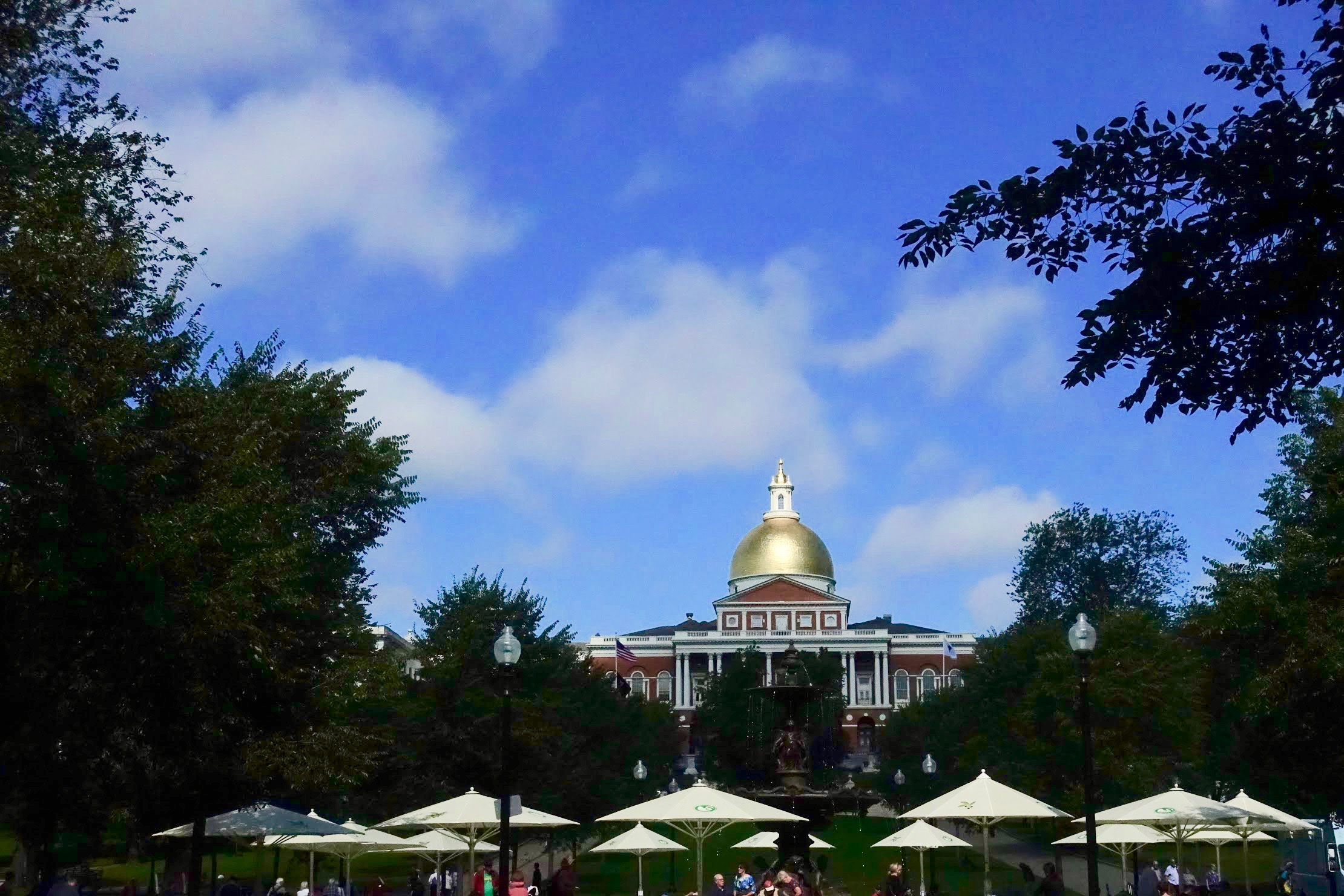 Massachusetts State House in Boston