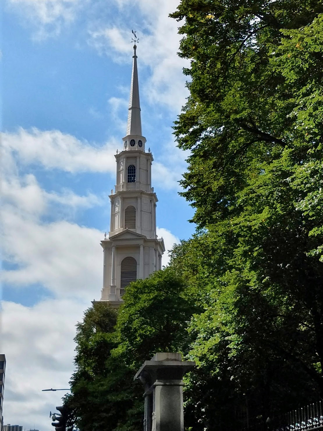The Park Street Church in Boston