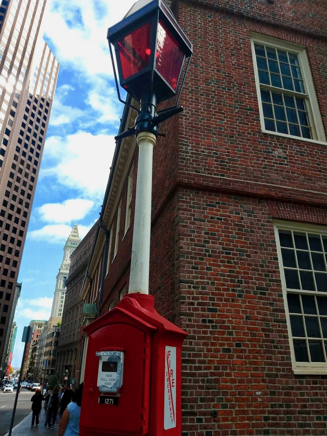 Boston Fire Alarm Box