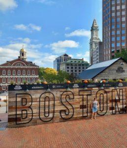 Boston, zicht op faneuil hall en south market